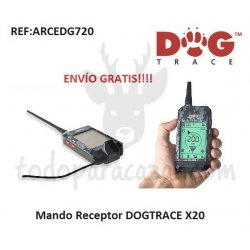 Mando Receptor DOGTRACE X20