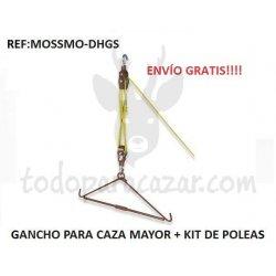 Gancho para Caza Mayor + Kit de Poleas