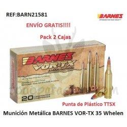 Munición Metálica BARNES VOR-TX 35 Whelen