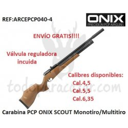 Carabina PCP ONIX SCOUT Monotiro/Multitiro