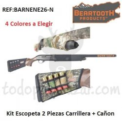 Kit Neopreno Escopeta 2 Piezas. Carrillera + Cañón.