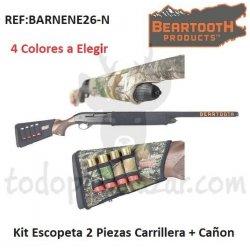 Kit Neopreno Escopeta 2 Piezas. Carrillera + Cañón