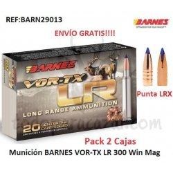 Munición Metálica BARNES VOR-TX LR 300 Win.Mag. - Pack 2 Cajas