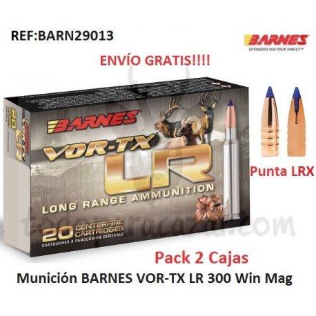 Munición Metálica BARNES VOR-TX LR 300 Win.Mag.