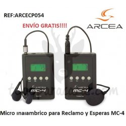 Micro Inalámbrico MC-4 para Reclamo de Perdiz y Esperas de Jabalí