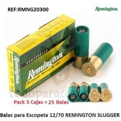 Balas para Escopeta REMINGTON SLUGGER