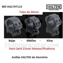 Anillas HALTEN Aluminio