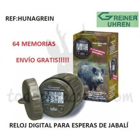 Reloj Esperas Jabalí GREINER 64 Memorias