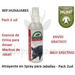 Atrayente para Jabalí en Orina - Pack 2ud
