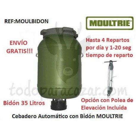 Cebadero Automático MOULTRIE con Bidón