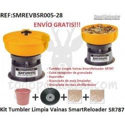 Kit Tumbler Limpia Vainas SmartReloader SR787 - Ready to Go