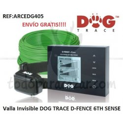 Valla Invisible DOGTRACE D-FENCE 6th Sense Digital