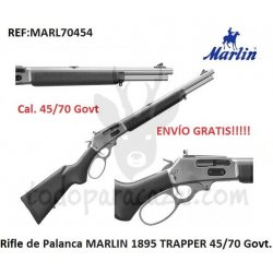 Rifle de Palanca MARLIN 1895 TRAPPER 45-70 Govt.