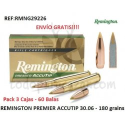 REMINGTON PREMIER ACCUTIP 30-06 - Pack 3 Cajas