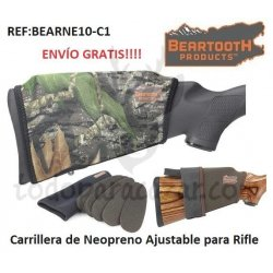 Carrillera de Neopreno Ajustable para Rifle