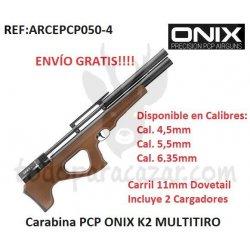 Carabina PCP ONIX K2 MULTITIRO
