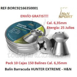Balín Barracuda HUNTER EXTREME - HAENDLER & NATERMANN