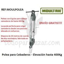 Polea para Cebaderos - Elevación hasta 400Kg