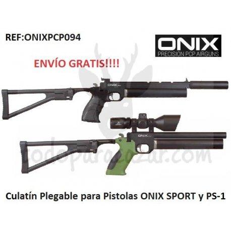 Culata Plegable para Pistolas PCP ONIX