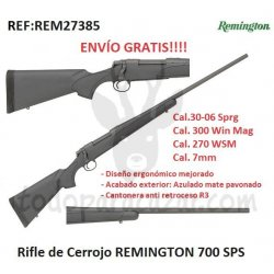 Rifle de Cerrrojo REMINGTON 700 SPS