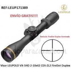 LEUPOLD VX-5HD 2-10x42 CDS-ZL2 FireDot Duplex