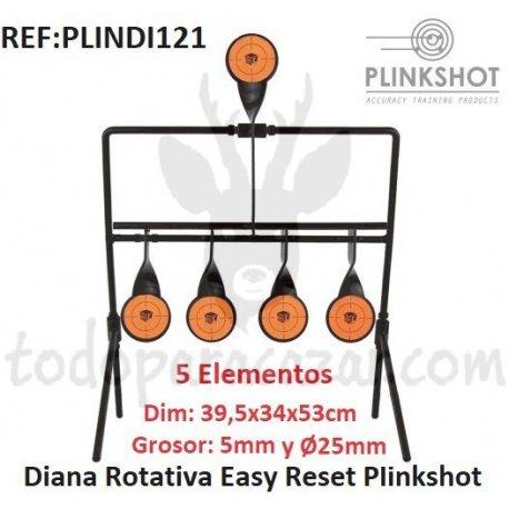 Diana Rotiva Easy Reset Plinkshot - 5 Elementos