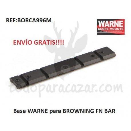 Base Weaver WARNE para BROWNING FN BAR