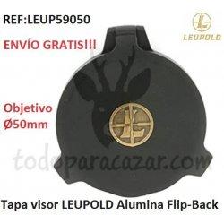Tapa para visor LEUPOLD Alumina Flip-Back - objetivo 50mm.