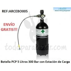 Botella PCP 300Bar - 5 litros