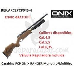 Carabina PCP ONIX RANGER Monotiro/Multitiro
