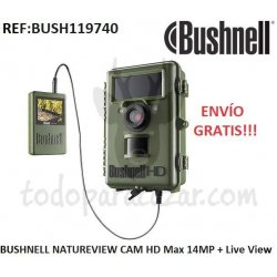 BUSHNELL NATUREVIEW CAM HD Max 14MP + Live View