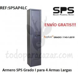 Armero Grado I SPS AP4LC - 4 Armas Largas