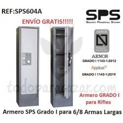 Armero Grado I SPS AP604 AENOR - 6/8 Armas Largas