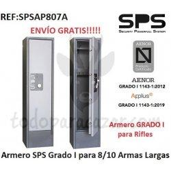 Armero Grado I SPS AP807 AENOR - 8 Armas con Visor