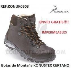 Botas de Montaña KONUSTEX CERTANO