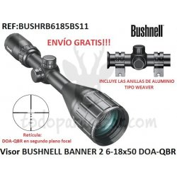 Visor BUSHNELL BANNER 2 6-18x50 DOA-QBR