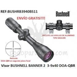 Visor BUSHNELL BANNER 2 3-9x40 DOA-QBR