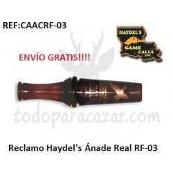 Reclamo para Pato Haydel's - Ánade Real RF-03
