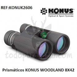 Prismáticos KONUS WOODLAND 8X42