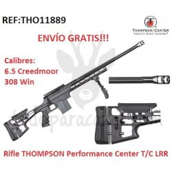 Rifle de cerrojo THOMPSON Performance Center T/C LRR (308Win y 6.5 Creedmor)