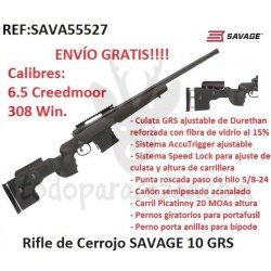 Rifle de Cerrojo SAVAGE 10 GRS