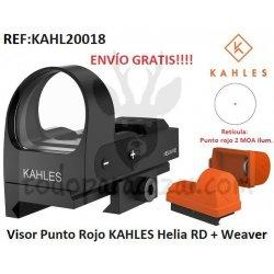 Visor Punto Rojo KAHLES Helia RD con montura Weaver