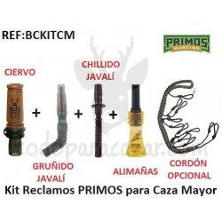 Kit Reclamos PRIMOS para Caza Mayor