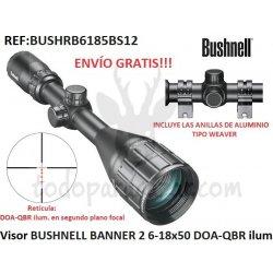 Visor BUSHNELL BANNER 2 6-18x50 DOA-QBR ilum.