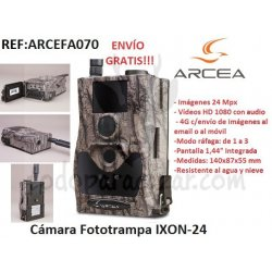 Cámara Fototrampa IXON-24