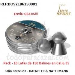 Balín Barracuda - HAENDLER & NATERMANN 6.35mm