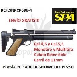 Pistola PCP ARCEA-SNOWPEAK PP750